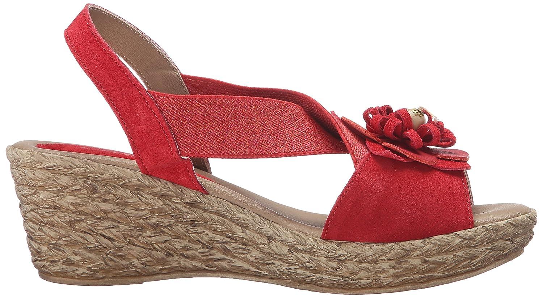 Azura by Spring Step Womens Ruby-mae Wedge Sandal