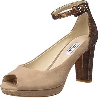 b36e631623d4 Clarks Women s Acina Newport Wedge Heels Sandals