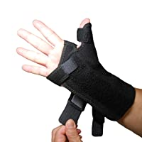 IRUFA,TB-OS-38, 3D Breathable Fabric RSI Wrist Thumb Spica Splint for Carpal Tunnel...