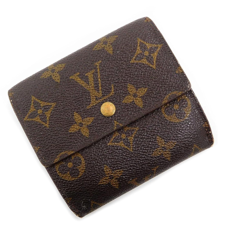 [ルイヴィトン] LOUIS VUITTON 二つ折り財布 モノグラム PVC×レザー X15576 中古   B073S4V3DM