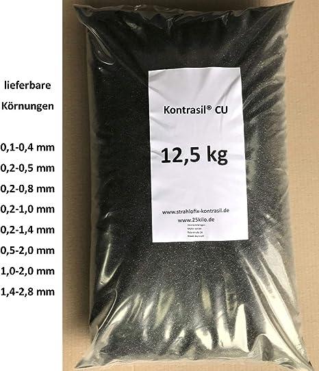 1,4-2,8 mm Asilikos 25 kg Strahlmittel Strahlgut Sandstrahlen