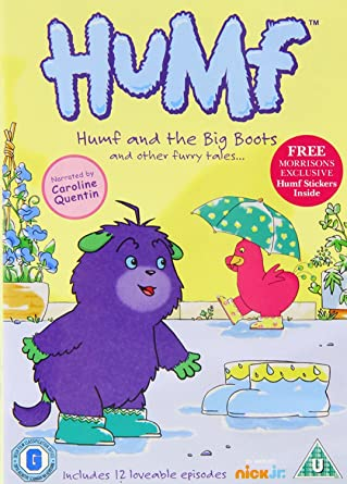 Humf - Vol  2 - Humf And The Big Boots [DVD]: Amazon co uk