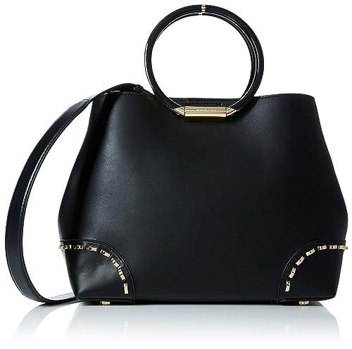 3f39a4b41a64 Michael Kors Womens Herron Tote Black (BLACK)  Amazon.co.uk  Shoes ...