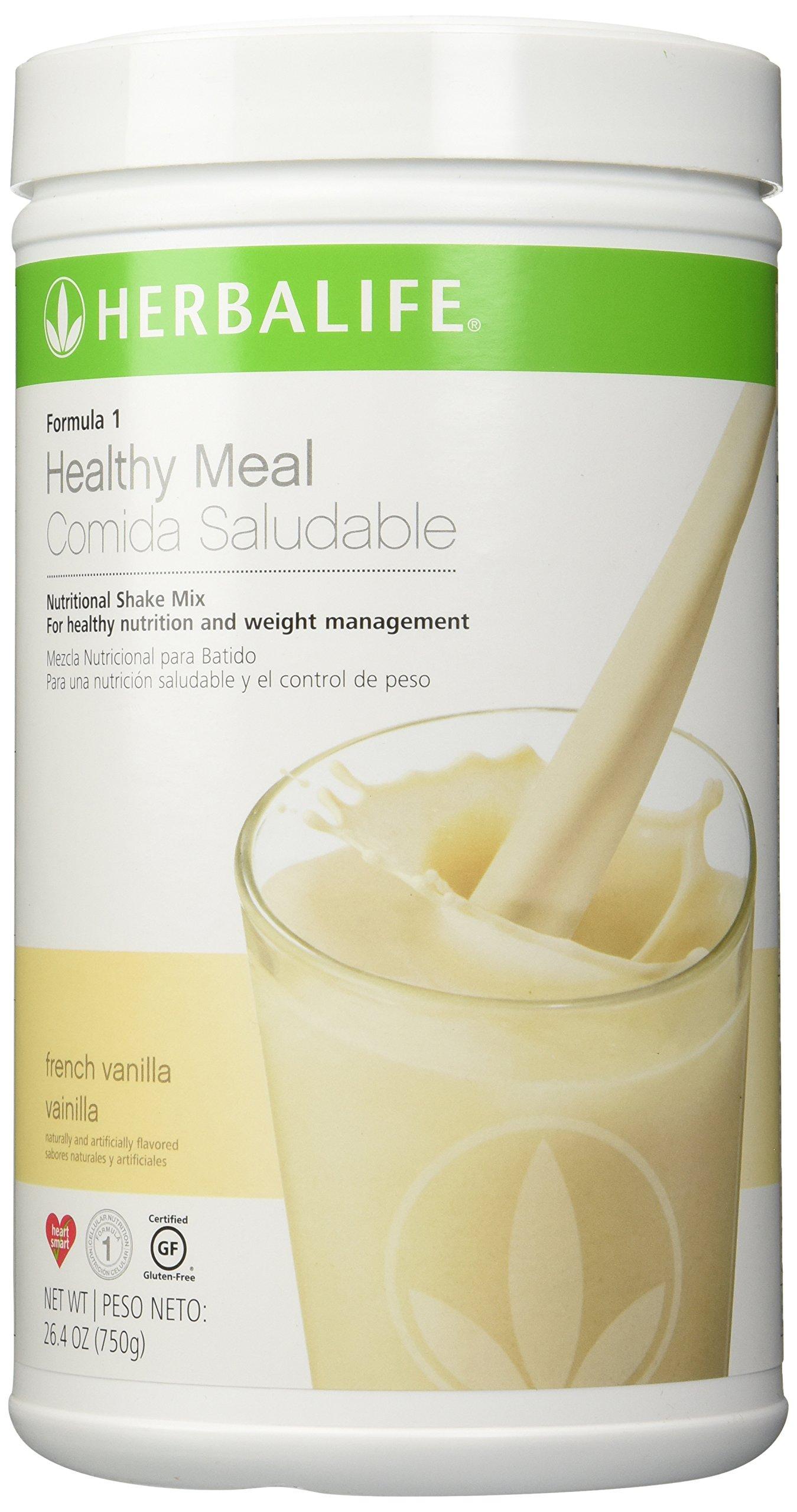 Herbalife ShapeWorks QuickStart - *Includes; VANILLA Formula 1 Healthy Meal Nutritional Shake Mix (750 g) Formula 2 Multivitamin Complex 90 tablets Formula 3 Cell Activator® 60 tablets Herbal Tea Concentrate (50 g)