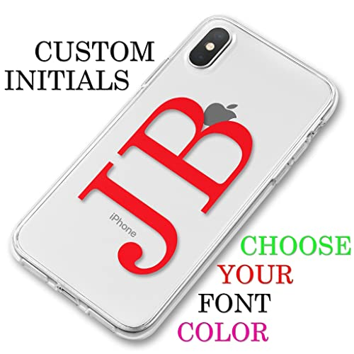 initial phone case iphone xs
