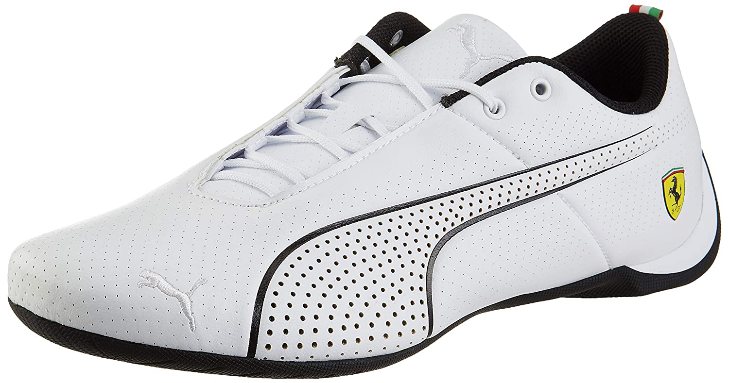 84e72665a4b Puma Unisex s SF Future Cat Ultra White Black Sneakers-9 UK India (43 EU)  (30624103)  Buy Online at Low Prices in India - Amazon.in