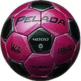 molten(モルテン) サッカーボール ペレーダ4000   4号 マジェンタピンク×黒 F4P4000-PK