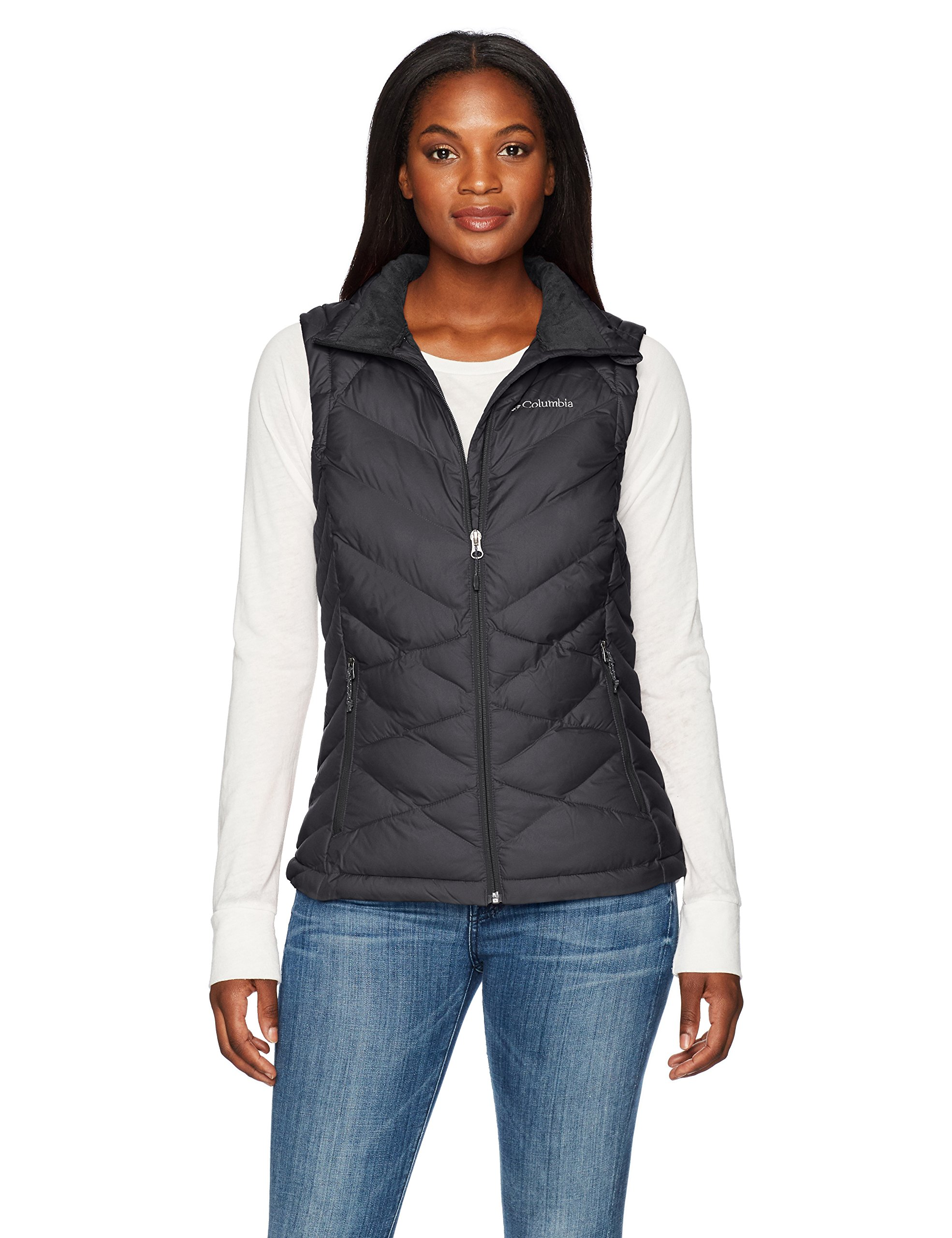 Columbia 1738141 Women's Heavenly Vest, Black, Large