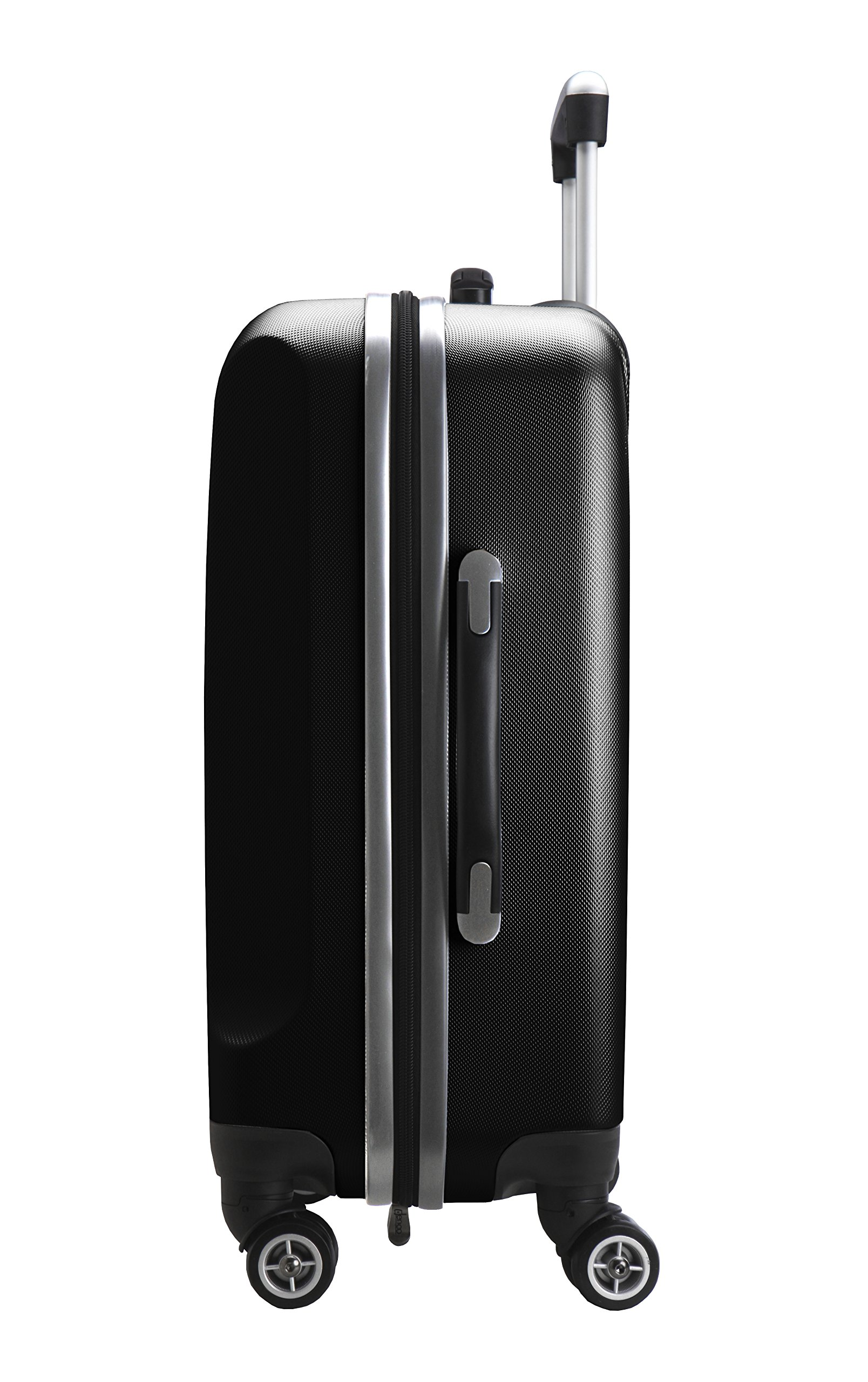 Denco NBA Houston Rockets Carry-On Hardcase Luggage Spinner, Black by Denco (Image #4)