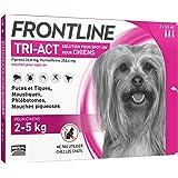 FRONTLINE Tri Act pour Très Petit Chien 2-5 kg 3 Pipettes