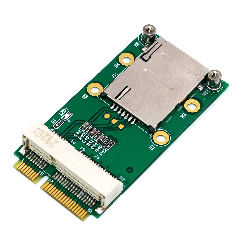 Adatador Mini PCIe SIM Card 3G/4G WWAN LTE