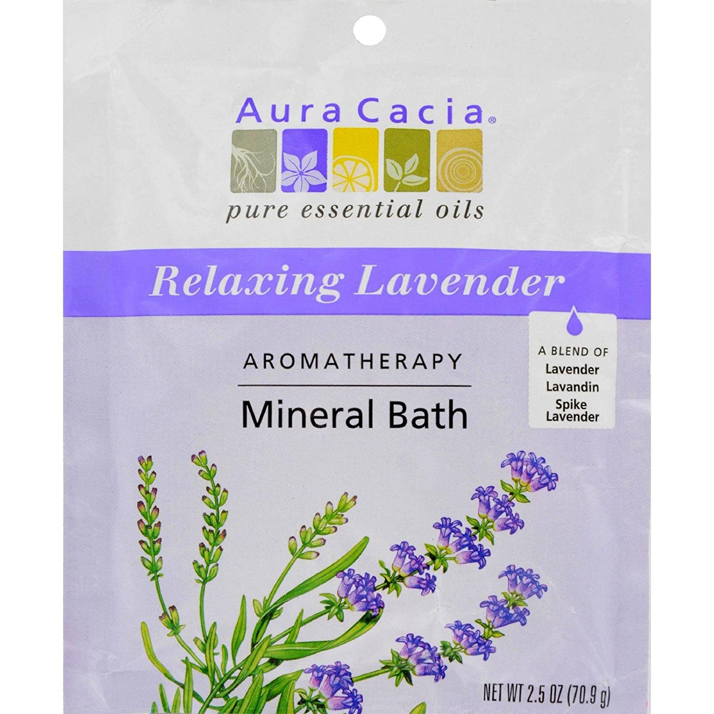 Aura Cacia Aromatherapy Mineral Bath Lavender Harvest - 2.5 oz 188616