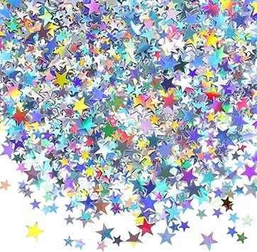 Étoiles Table Confettis multicolore