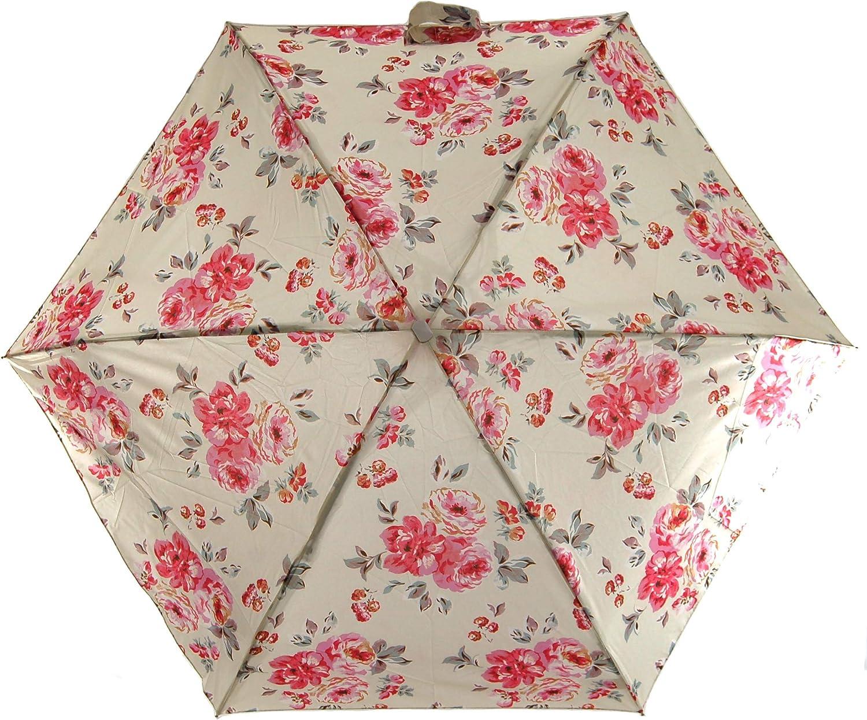 Cath Kidston Minilite - Paraguas telescópico para mujer: Amazon.es: Equipaje