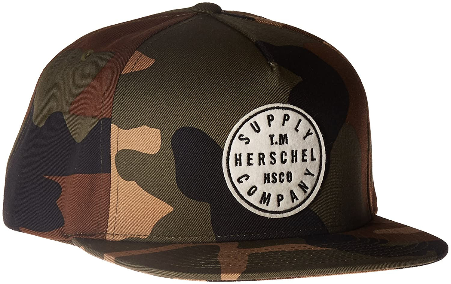 huge discount 0b487 67397 Herschel Supply Co. Men s Tm Cotton W, Woodland Camo, ONE SIZE at Amazon  Men s Clothing store