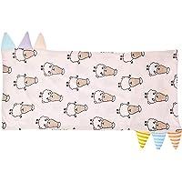 Baa Baa Sheepz Bed-Time Buddy Pillow Case, Stripe Tag, Pink, Jumbo