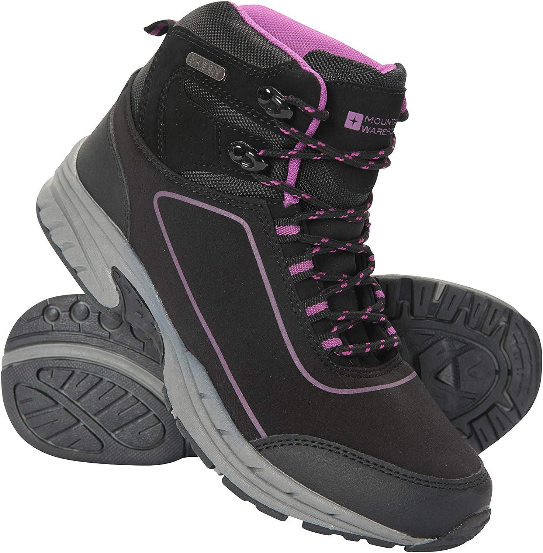 Semelle sup/érieure en Caoutchouc Mountain Warehouse Chaussures de Marche pour Femme Id/éales pour la randonn/ée Semelle en Mousse EVA Maille Respirante