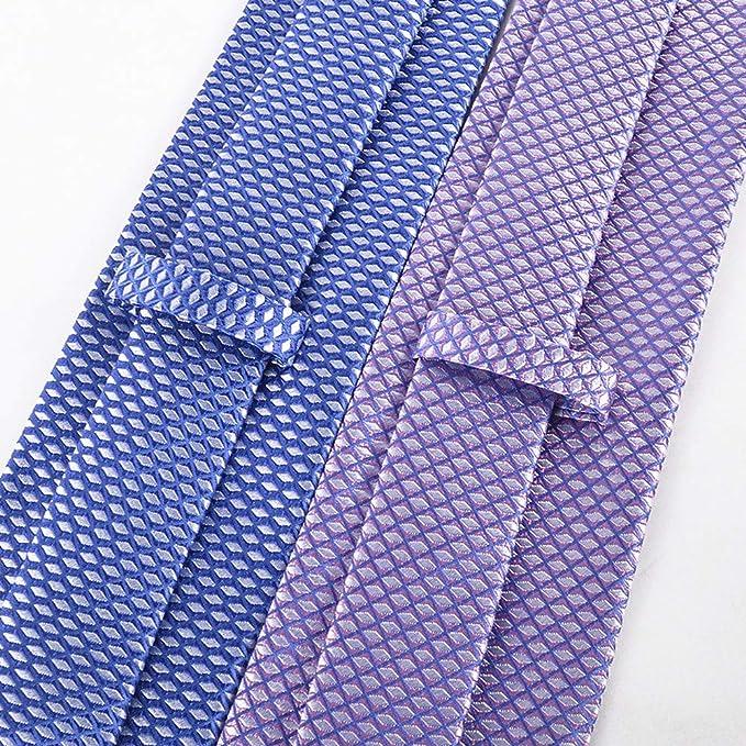 Wangwang454 Corbata Casual De La Moda De Seda Jacquard del Color ...