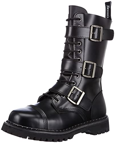 20182017 Boots Pleaser Mens Riot 12 Buckle Boot Sale Cheap