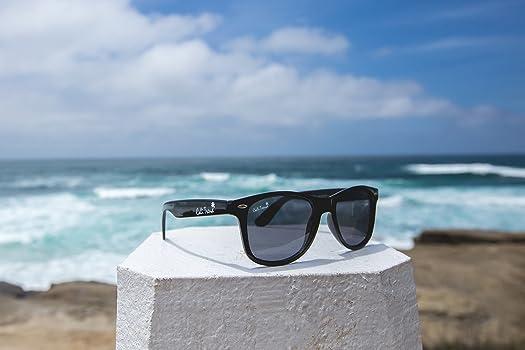 Amazon.com: Wayfarer Estilo anteojos de sol polarizadas ...