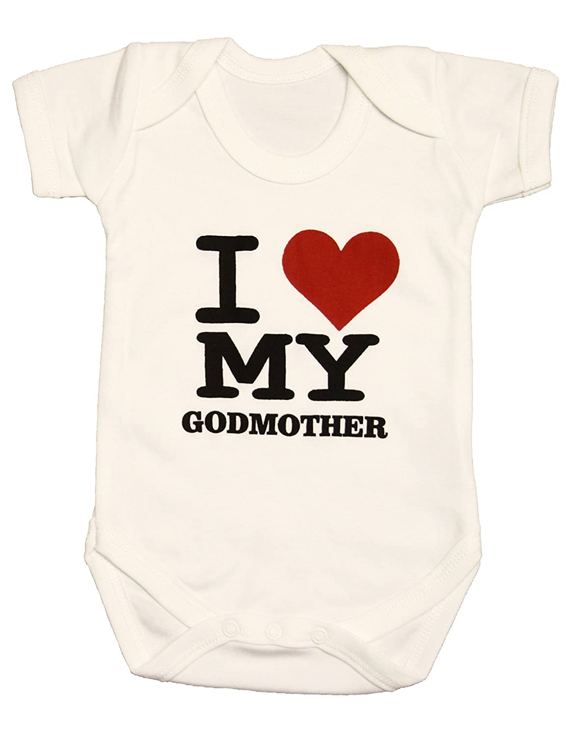 Zaza London Baby-Boys' I Love My Godmother Suit Vest Newborn Gift