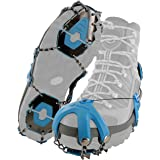 Yaktrax Summit Heavy Duty Traction Cleats with Carbon Steel Spikes for Snow and Ice