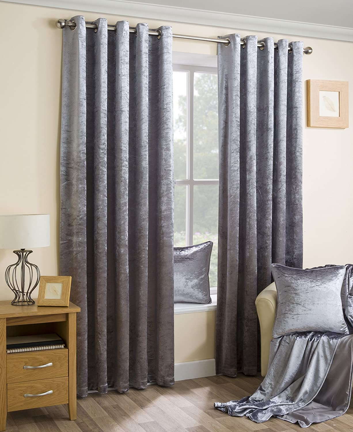 absolute drapes faux in curtain p black zero velvet curtains total length blackout panel