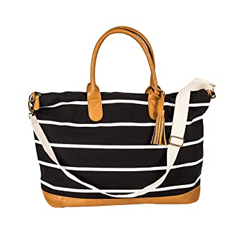 Amazon.com: Cathy's Concepts 2324BK Personalized Black Striped ...