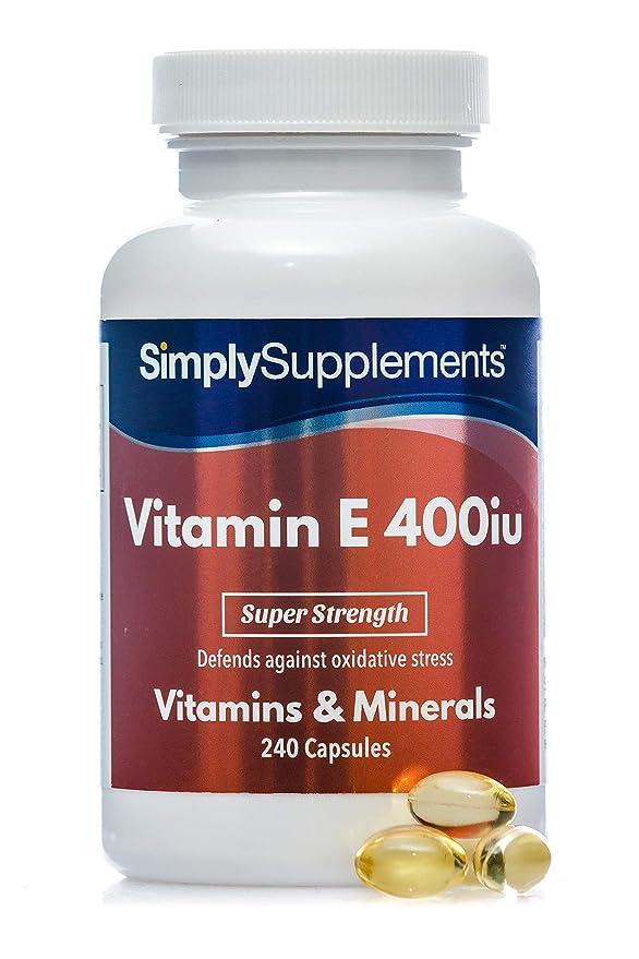 como tomar la vitamina e de 400 ui