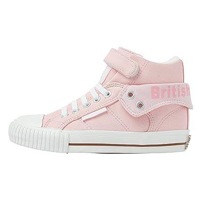British Knights Mädchen Sneaker Off White/Off White/Butterfly, Off White/Off White/Butterfly - Größe: 35 EU
