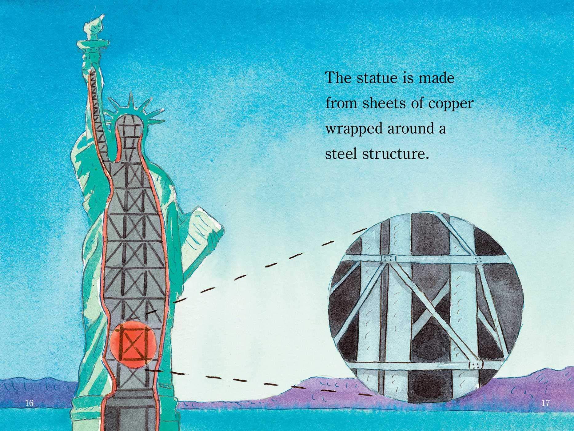 The Statue of Liberty (Wonders of America): Marion Dane Bauer, John  Wallace: 9781534430310: Amazon.com: Books
