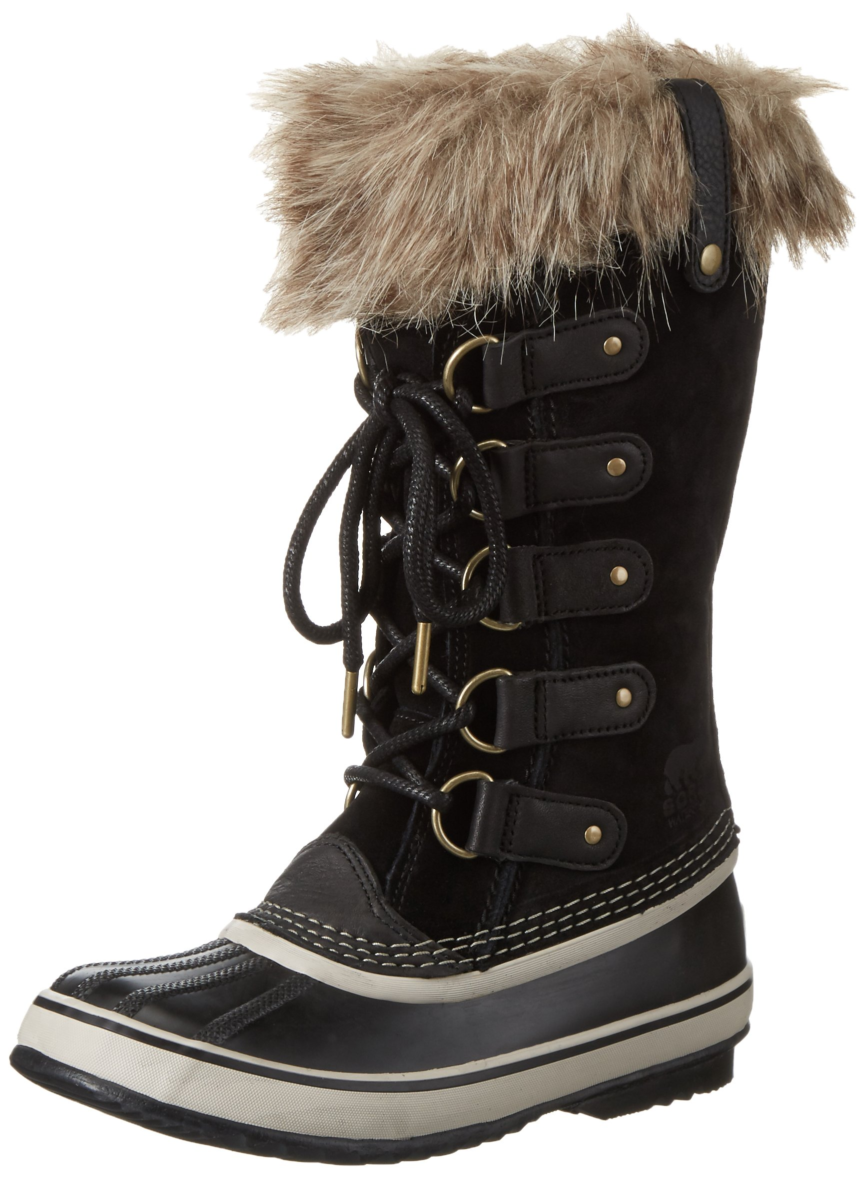 SOREL Women's Joan Of Arctic, Black 2, 6 B-Medium