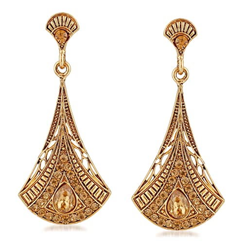 a4831411f Buy Meenaz Gold Plated Jhumki Jhumka Earrings For Women /Girls Online at  Low Prices in India | Amazon Jewellery Store - Amazon.in
