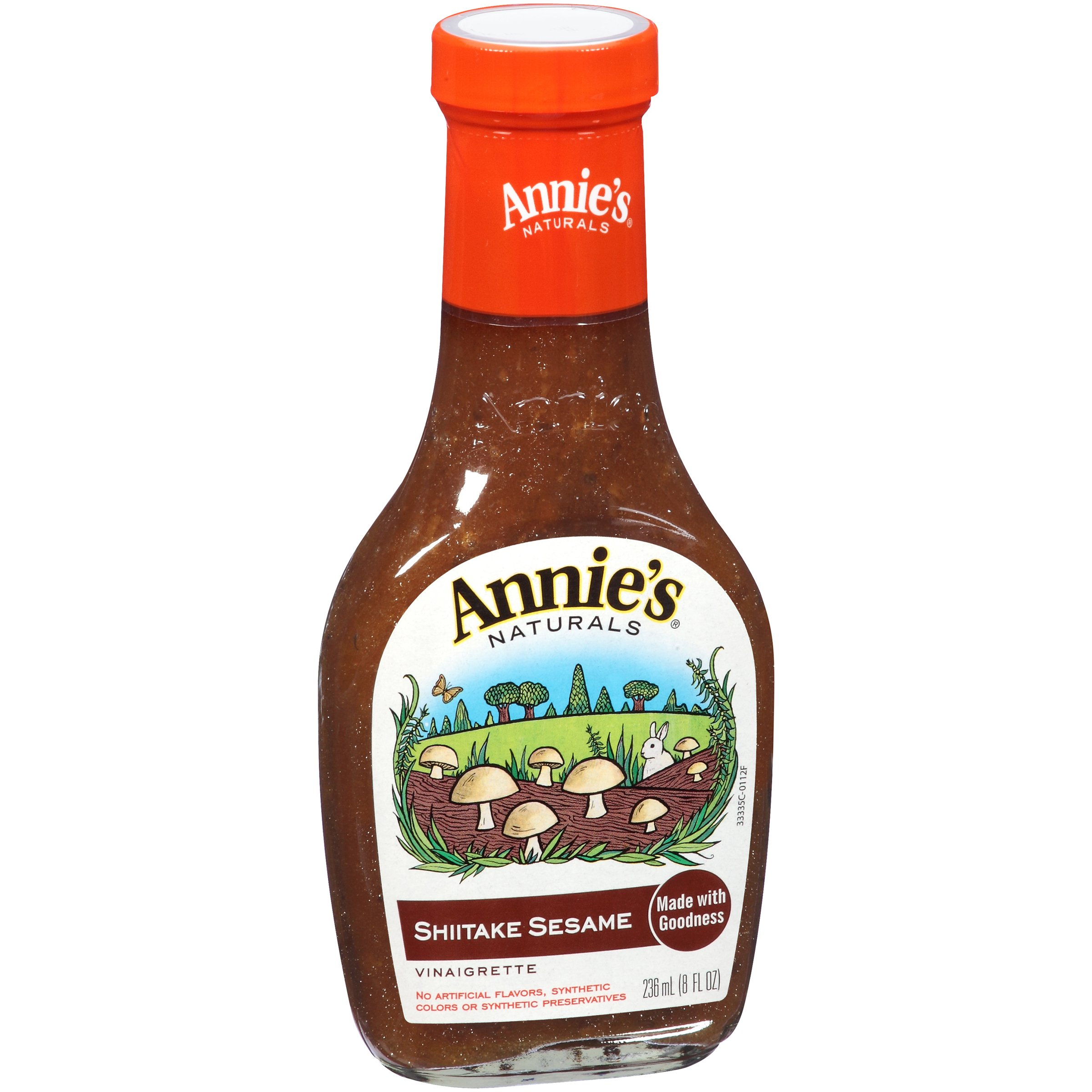 Annie's Natural Shiitake Sesame Dressing 8 fl oz Bottle