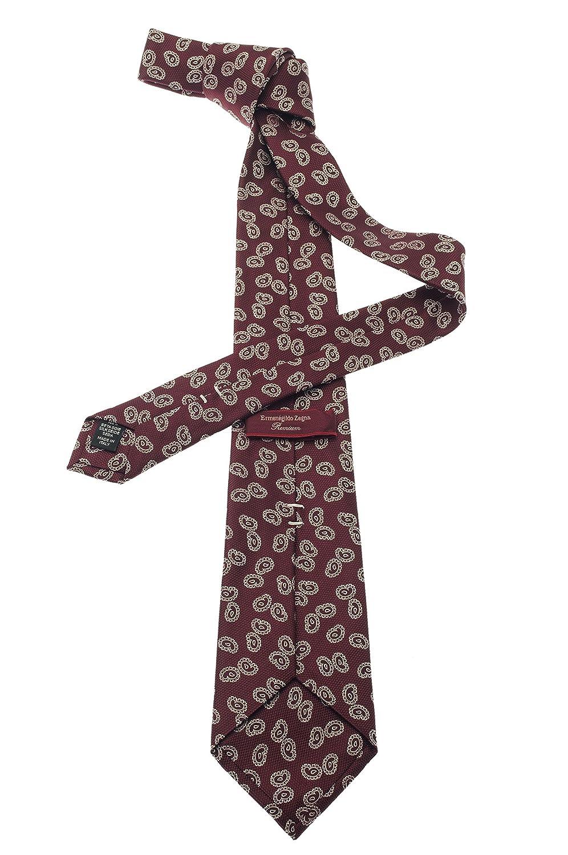 Ermenegildo Zegna Cravatta Bordeaux  Amazon.it  Abbigliamento dec9dc31594