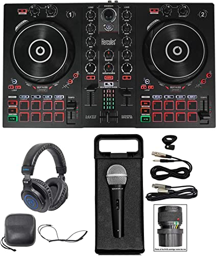 Amazon.com: Hercules DJ CONTROL INPULSE 300 - Controlador de ...