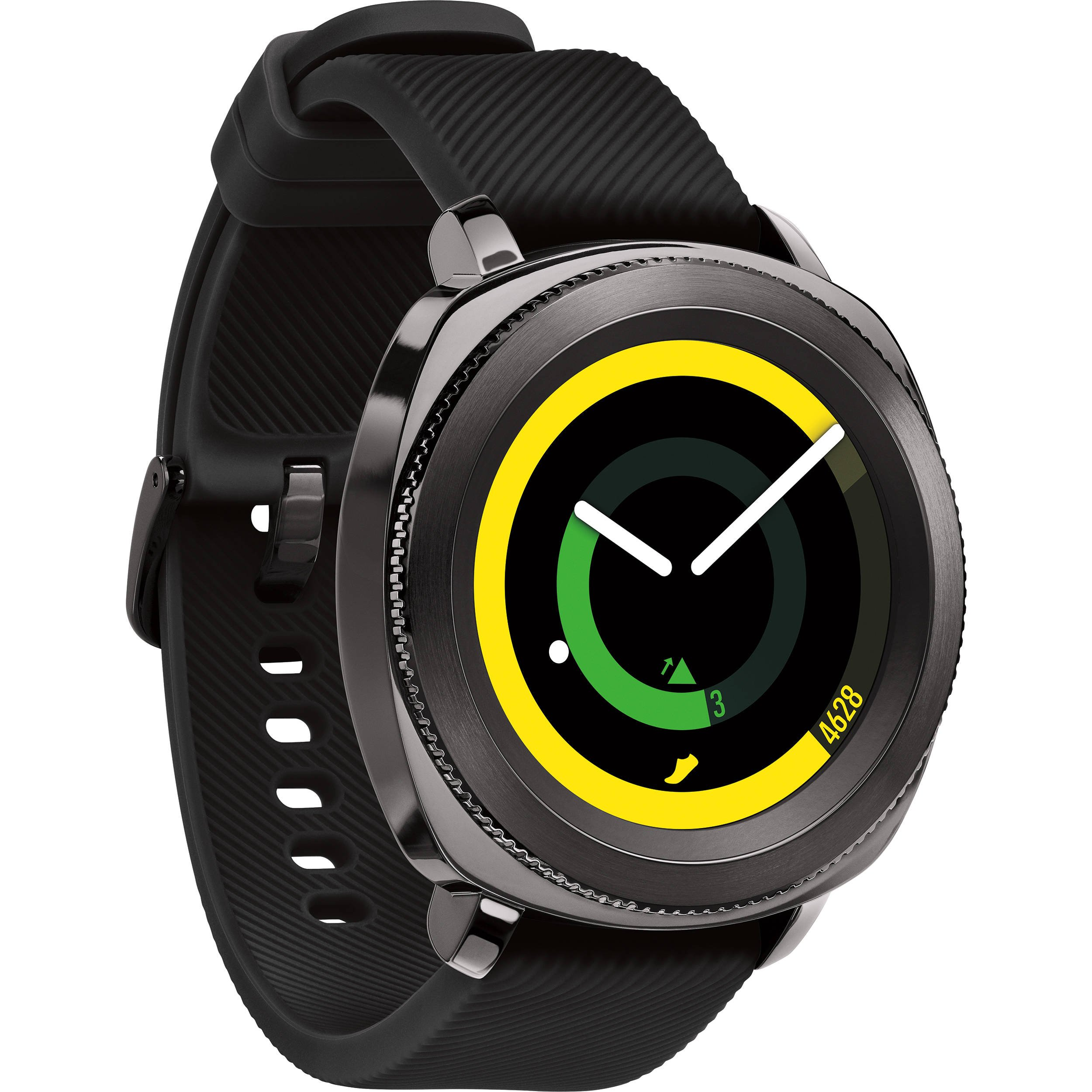 Samsung Gear Sport Smartwatch, Black (SM-R600NZKAXAR) (Renewed) by Samsung