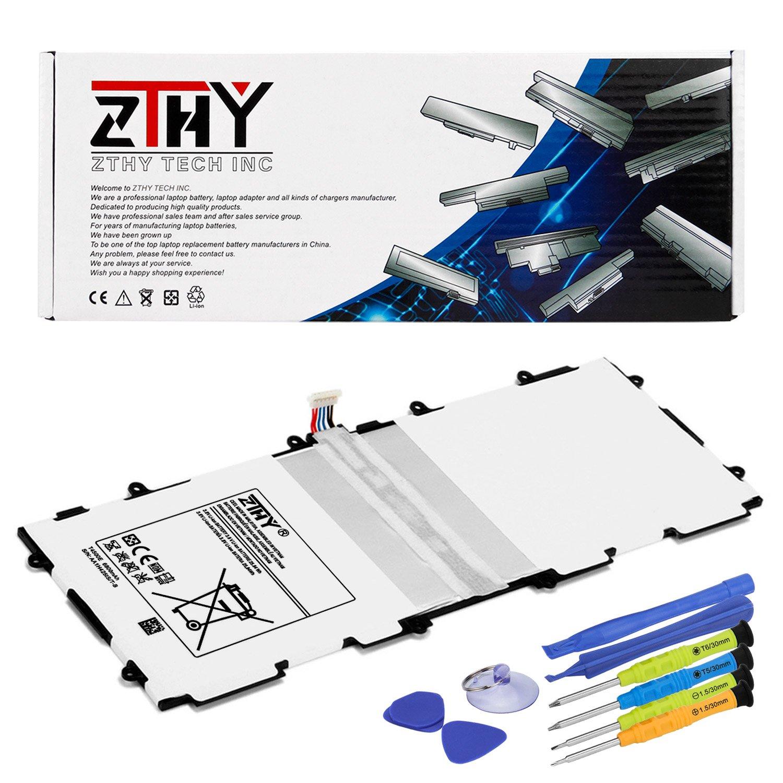 ZTHY Compatible T4500E T4500C Tablet Battery Replacement Samsung Galaxy Tab 3 10.1 GT-P5200 GT-P5210 GT-P5220 GT-P5213 AA1D625aS/7-B 3.8V 6800mAh Tools
