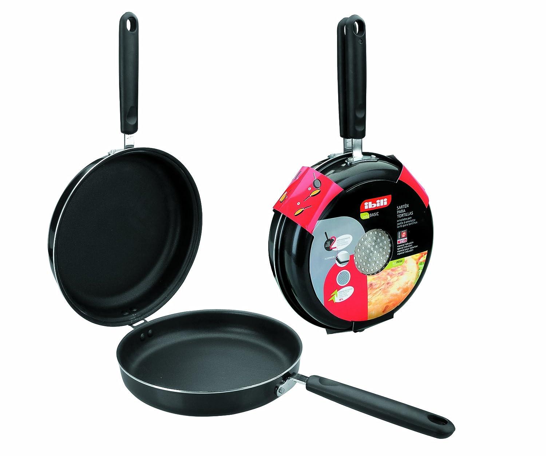 Amazon.com: Ibili Indubasic Aluminum Omelette Tortilla Induction Frying Pan 8