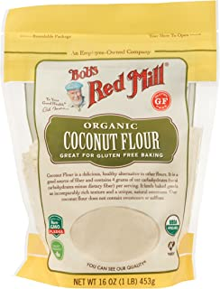 product image for Bob's Red Mill, Organic Gluten Free Coconut Flour, 16 Ounce
