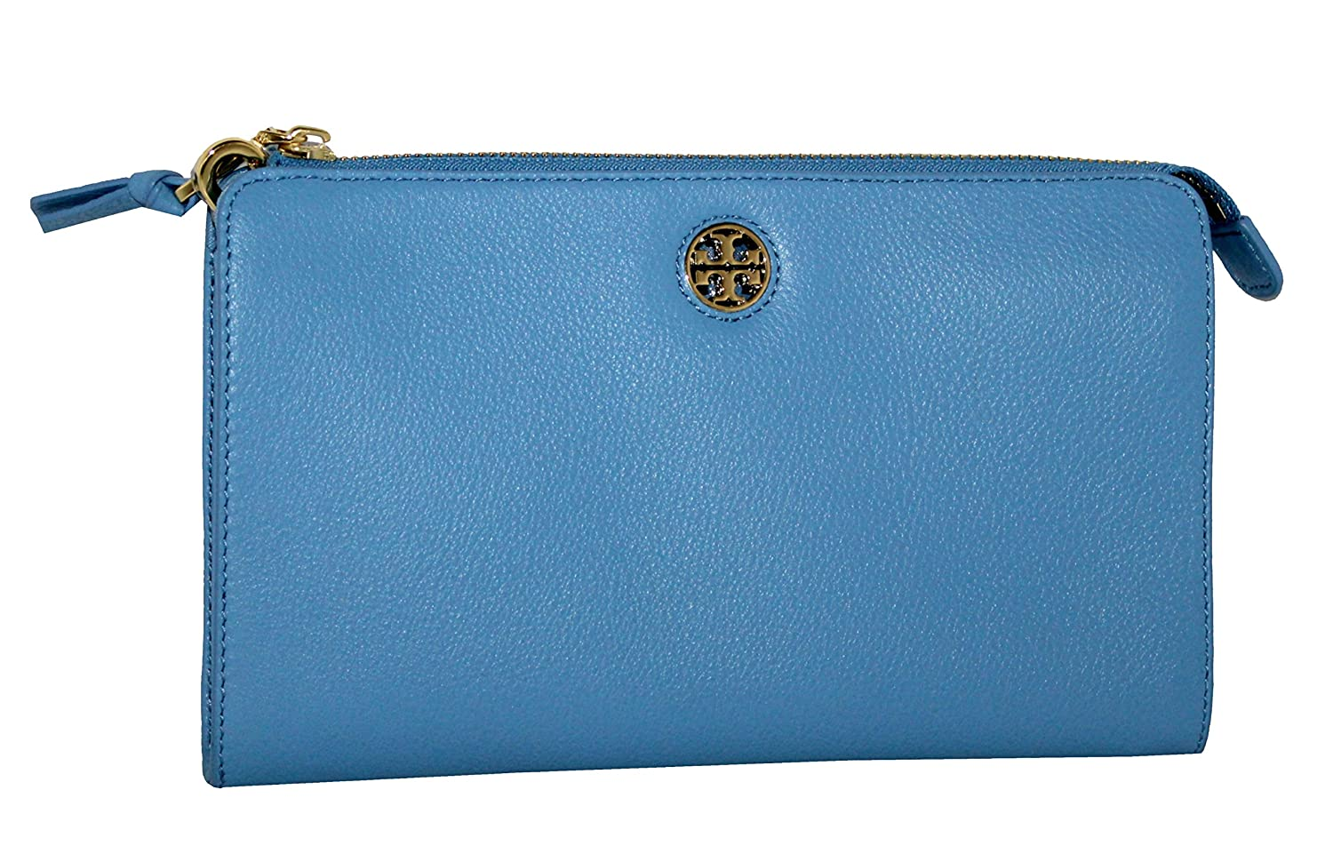 4eac4600af6a Amazon.com  TORY BURCH BRODY PEBBLED LEATHER WALLET CROSSBODY WOMEN S BAG   Shoes