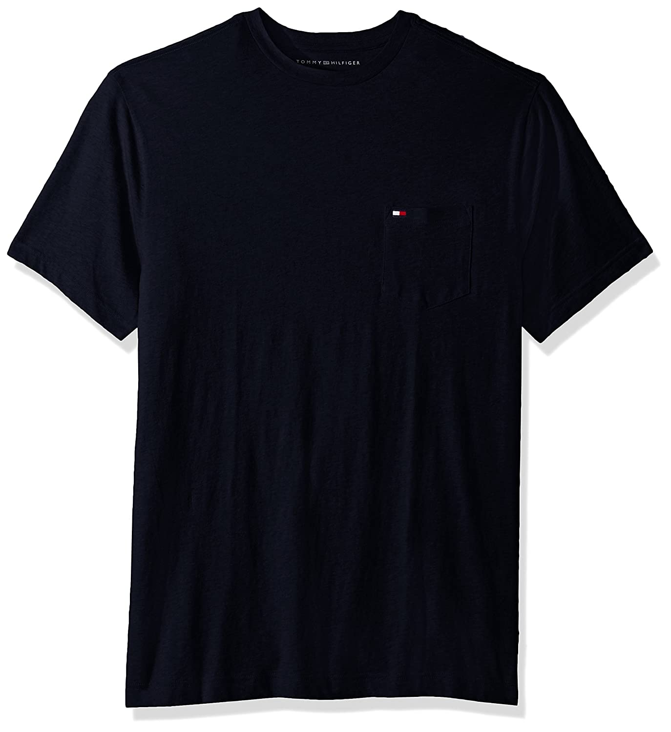 1dd07991e Amazon.com  Tommy Hilfiger Men s Big and Tall T Shirt with Pocket  Clothing