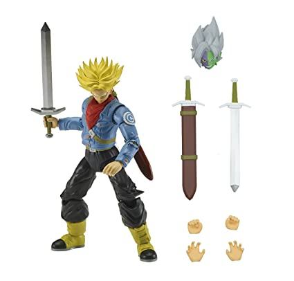 6be869006e337 Dragon Ball Super - Dragon Stars Super Saiyan Future Trunks Figure (Series  2)