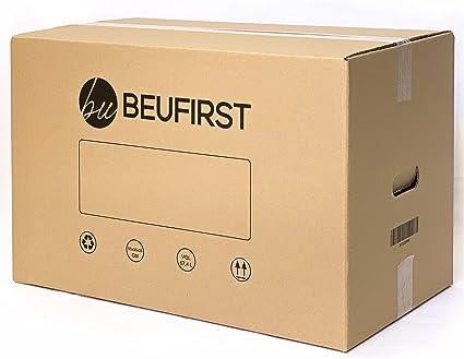 Packs de 5 ó 10 Cajas XL (550x350x350 mm) con Asas Canal Doble 5 Capas Alta Calidad Reforzado, muy Resistentes y Reutilizables. Cajas Mudanza, Transporte, o ...