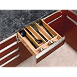 Rev-A-Shelf 4WUT-1 Wood Cabinet Drawer Utility Tray Insert, Small, Natural