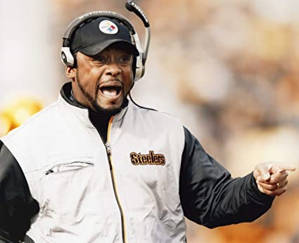 Coach Mike Tomlin Pittsburgh Steelers 8x10 High Glossy Sports Action Photo P