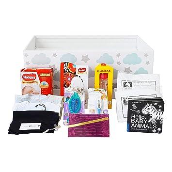 Amazon.com: Caja de bebé de acabado con soporte: ducha de ...