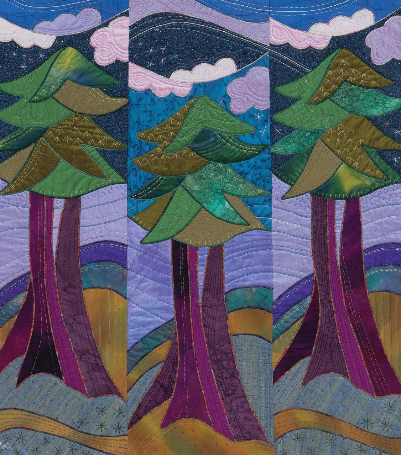 Landscape Quilt Patterns Magnificent Inspiration Ideas