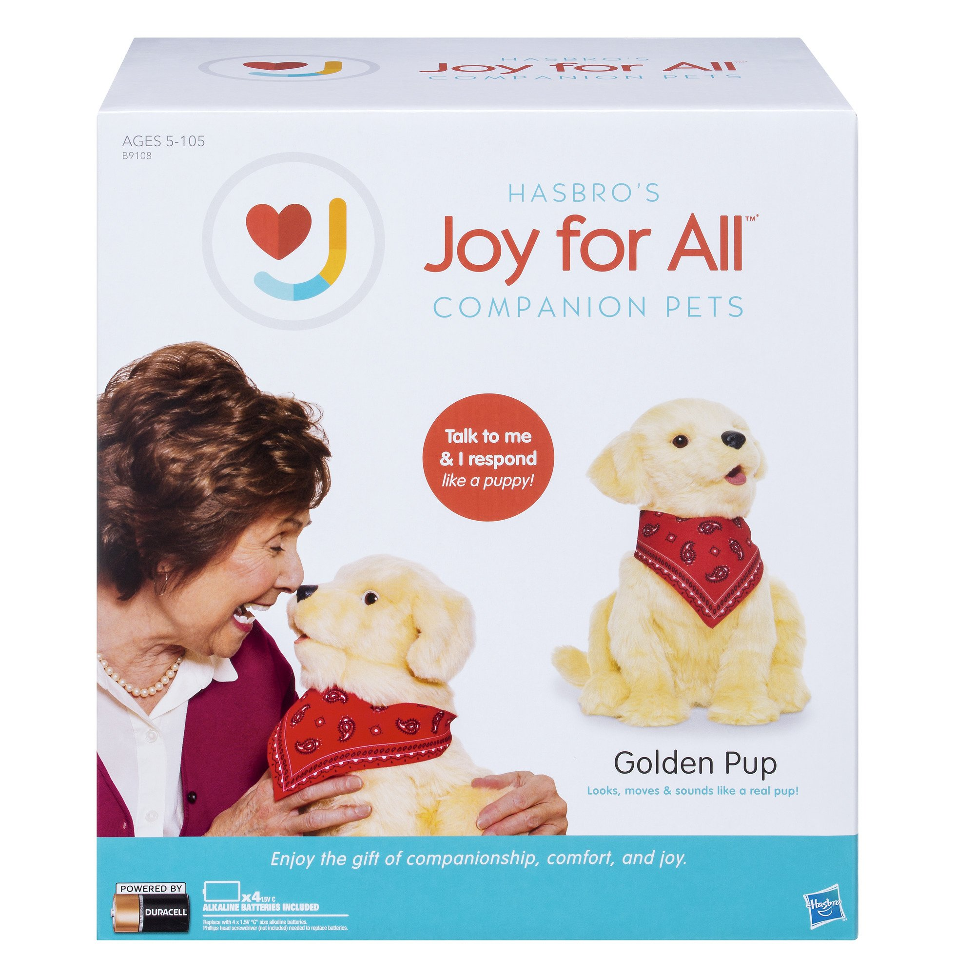Joy for All Companion Pet Golden Pup by Joy For All (Image #2)
