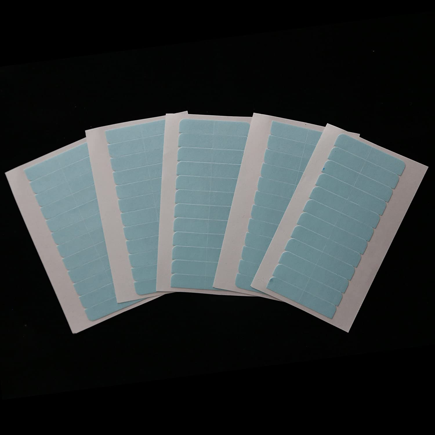 60 Tabs Precut Super Double Sided Adhesive Tape Skin Weft or Tape-in Hair Extension Replacement YILITE